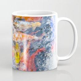 Koi Carp Splash Coffee Mug