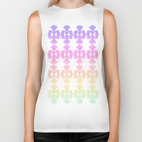 casablanca Biker Tanks featuring Sorbet in Casablanca by ZaWe