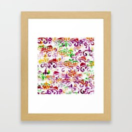 Dappled Pattern 2 Framed Art Print