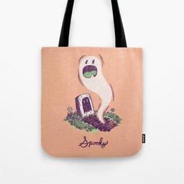 Spooky Ghostie Tote Bag