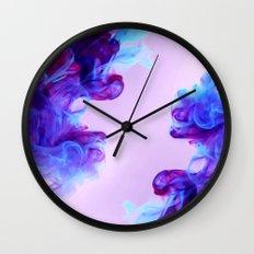 Ink Drops Wall Clock