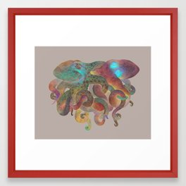 Tangled No. 3 Framed Art Print