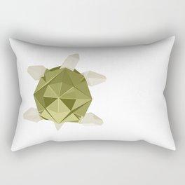 Origami Turtle Rectangular Pillow
