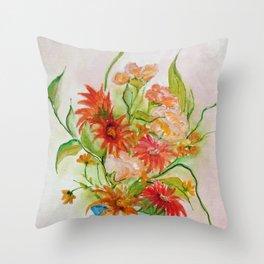 Composição com flores I (Composition with flowers I) Throw Pillow
