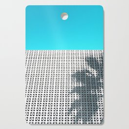 Parker Palm Springs with Palm Tree Shadow Cutting Board