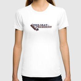 PizzaRat for President T-shirt