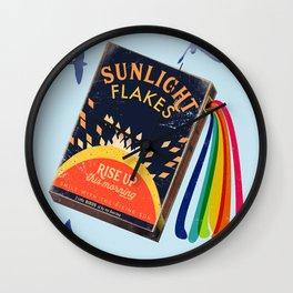 Rise up sunlight  Wall Clock