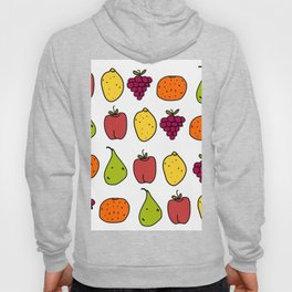 Fruits in a Line Hoody
