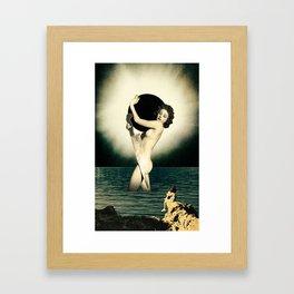 Sharpen Your Edges Framed Art Print