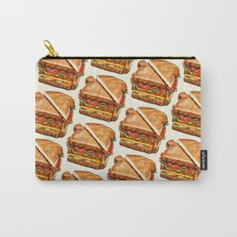 Turkey Club on White Carry-All Pouch