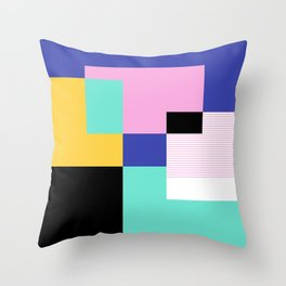 Tile Harmony Throw Pillow