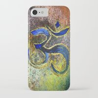namaste iPhone & iPod Cases featuring Namaste by Imperfections