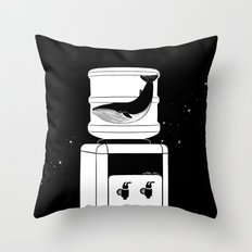 Thirst for Freedom Throw Pillow