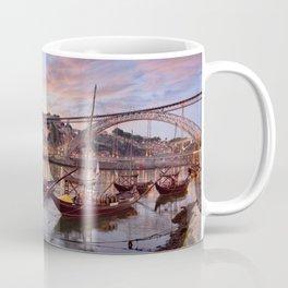 Oporto at dusk Coffee Mug