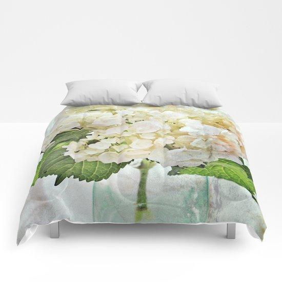 Whitish Comforters