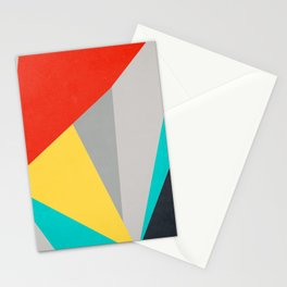 Aggressive Color Block Stationery Cards