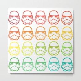 Rainbow wars Metal Print