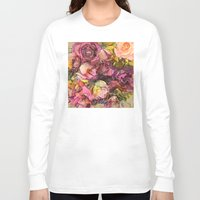 roses Long Sleeve T-shirts featuring Roses by jbjart