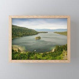 Emerald Bay, Lake Tahoe Framed Mini Art Print