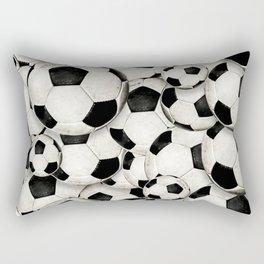 Dirty Balls - footballs Rectangular Pillow