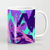 wesley bird Mugs featuring Wesley snipes // Bad actors v2 by mergedvisible