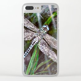 Dragonfly 2 Clear iPhone Case