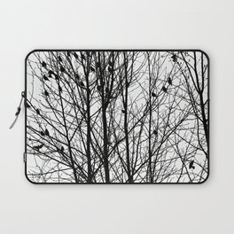 Winter Birds Laptop Sleeve