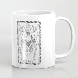 THE DEVIL WITH TWO MEN Coffee Mug