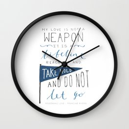 Redeeming Love Wall Clock