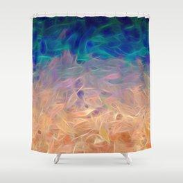 Jovian Fires Shower Curtain