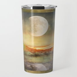 By the Light of the Crow Moon Travel Mug