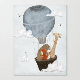 a big adventure Canvas Print