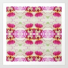 Flower Series I [Orchid] Art Print