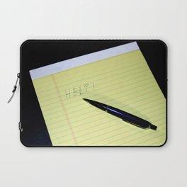 Notepad Pen Help Laptop Sleeve