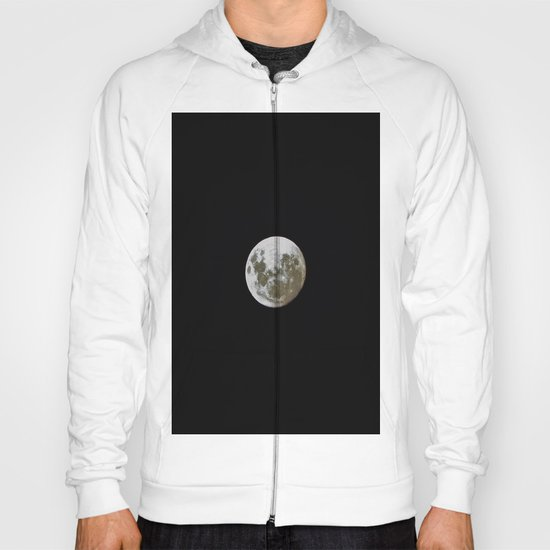 """I'm Full"", said the Moon. Hoody"