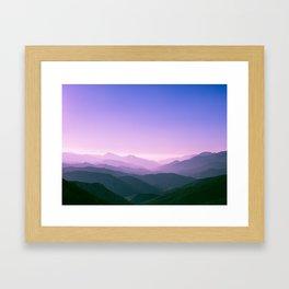 Angeles National Forest, 2016 Framed Art Print