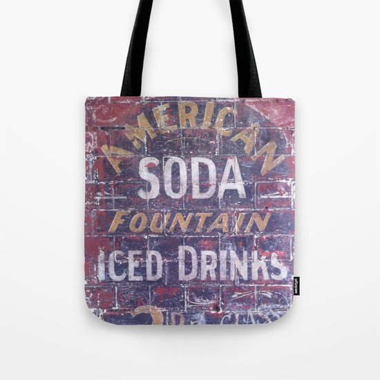 American Soda Tote Bag