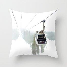 Whistler Blackcomb Throw Pillow