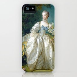 François Boucher Madame Bergeret iPhone Case