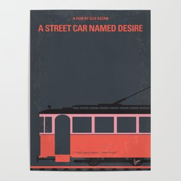 No397 My street car named desire mmp Poster
