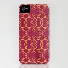 Gold Trellis Slim Case iPhone (4, 4s)