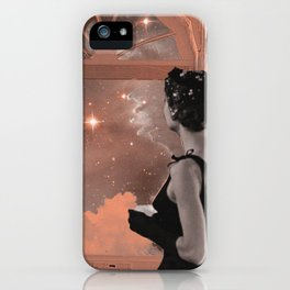 dreaming in pink iPhone Case