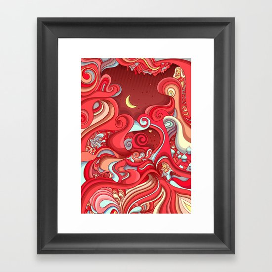 Dream Weave Framed Art Print