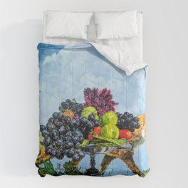 Fox and Grapes Comforters