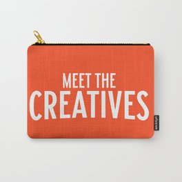 Meet the Creatives Carry-All Pouch