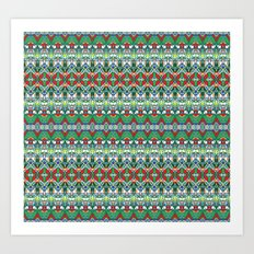 Tapestry 2 Tile Art Print