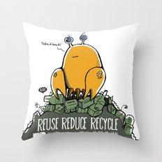 Environmental Hackathon 2013 Throw Pillow