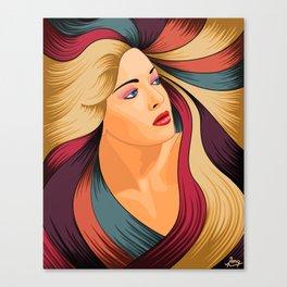 Encomium: Lana Turner Canvas Print