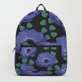 Anemones III: cold rectangle Backpack