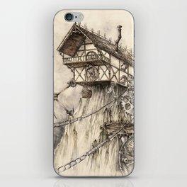 Steampunk House iPhone Skin
